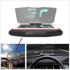 Vehicles Safety Driving GPS Navigation HUD Head Up Display Phone Bracket Support