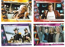2007 COMPLETE STAR TREK MOVIES COMPLETE 90-CARD SET