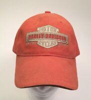 Harley Davidson brand cap hat embroidered adjustable strap