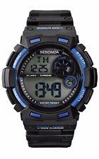 Sekonda Genuine Gents Digital Chronograph 100m WR Watch  New With Box 1035