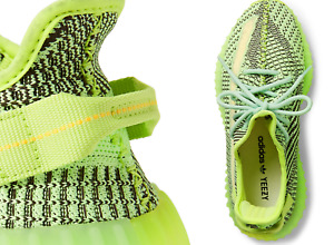 Adidas X Kanye West Yeezy Boost 350 V2 Glow-in-the-Dark Shoes Trainers 42.5