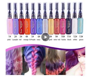 One-off Hair Color Dye Temporary Non-toxic DIY Hair Color Mascara Wash