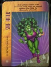 Marvel Overpower Powersurge She Hulk Elbow Grease NrMint-Mint Card