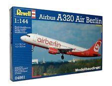 Airbus A 320 - Air Berlin 1:144 Flugzeug Bausatz Revell Nr. 04861 NEU & OVP