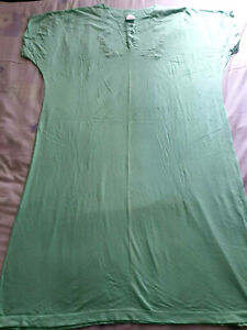 Brand New without Tags Mint green nightdress size 18-20 UK retro vintage cotton
