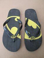 Black Batman Flip-Flops  - Size 13