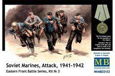MasterBox MB35153 1/35 Soviet Marines, Attack, 1941-1942 Eastern Front