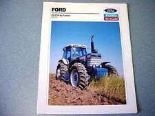 Ford New Holland 8210 Farm Tractor Brochure           lw