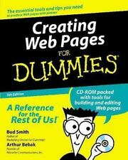 Creating Web Pages for Dummies by Bud E. Smith (2000, Paperback)