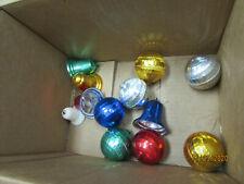 Gold / Silver Tinsel Garland Christmas Trim 18' Long / Plastic Ornaments (Off)