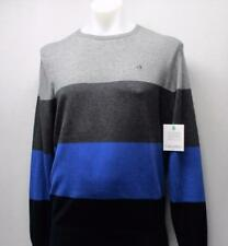 New Mens LARGE Calvin Klein Golf sweater Baltic Blue