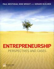 Entrepreneurship: Perspectives and Cases by Paul Westhead (English) Paperback Bo