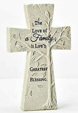Tree of Life Standing Table Top Cross NEW! Christian Faith Family