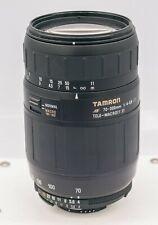 Tamron 70-300mm F4-5.6 AF LD Nikon AF-D Mount FX DSLR Camera Zoom Lens
