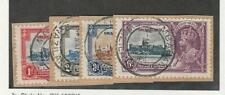 Swaziland, Postage Stamp, #20-23 Used on Piece, 1935, DKZ
