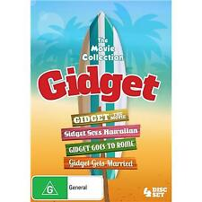 GIDGET The Movie Collection DVD 4MOVIES +Hawaiian+Rome+Gets Married BRAND NEW R4