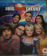 The Big Bang Theory Staffeln 1 2 3 4 5 6 7 8,1-8, 16 Blu Ray Box, NEU & OVP