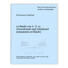 Bertelsmann Lexikothek: 10 Bände von A- Z; 15 Zusatzbände und Atlasband ...