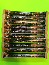 """Lot of 10 Red Cyalume 6"""" Military Tactical  Lightstick Prepper Bug Out Bag EMP"""