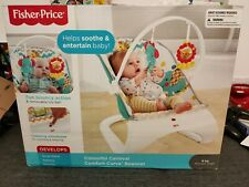 Fisher-Price Colourful Carnival Comfort Curve Bouncer FDG32 Brand NEW & Boxed