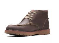 Clarks Vargo Apron Brown Chukka Boot Men's N2535 Size 10