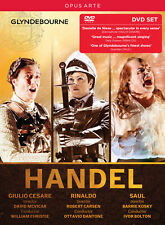 Handel: Giulio Cesare, Rinaldo, Saul [Box Set], New DVDs