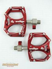 Wellgo M194 Quick Release Bearing Pedal Red