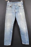 VTG LEVI'S XX 501 Button Fly Redline Selvedge SS Denim Jeans Size 31x36 (28x33)