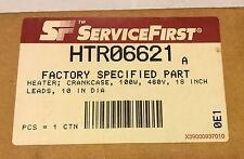"Service First HTR06621 Crancase Heater 100 Watt, 10"" Diameter ( New)"