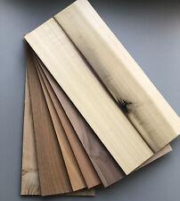 Solid Oak,Elm,Red Cedar,Poplar,Walnut,Sapele Wood Sheets 6mm Bundle With Defects