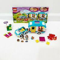 Lego Friends Summer Caravan Set Complete with Instructions 41034 100% Complete