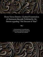 Homo Versus Darwin: A Judicial Examination of S. Lyon, P..#
