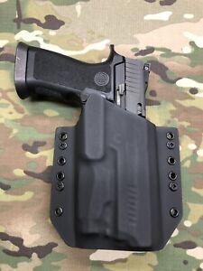 Black Kydex Holster for SIG P320 X5 Full Size Sig Sauer Foxtrot1