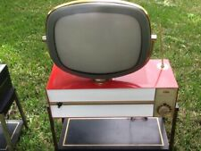 Philco Predicta RED PRINCESS Model-RESTORED-Looks and Plays Great!