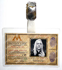 Harry Potter Lucius Malfoy ID Badge Ministry Of Magic Cosplay Prop Comic Con