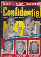 Confidential Magazine Anita Ekberg Kim Novak Rita Hayworth January 1956