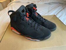 Nike Air Jordan 6 Retro Basketball Shoes - Black/Infrared, US 11.5