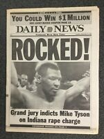 Mike Tyson - Boxing - 1991 New York Daily News Newspaper