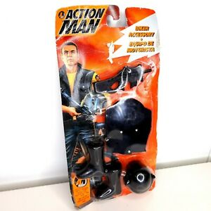 Action Man Hasbro Carded Unopened Boxed BIKER EQUIPMENT SET 1994 Accessories