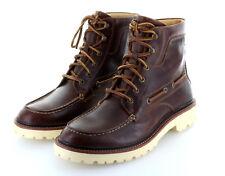 Sperry Top Sider Gold Luc Moc Tan Boot Stiefel Leder Schuhe Gr. 42 / US 9