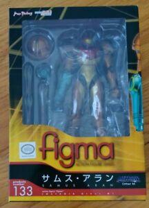 Metroid Other M Samus Aran Figma #133 Figure Max Factory Good Smile Authentic