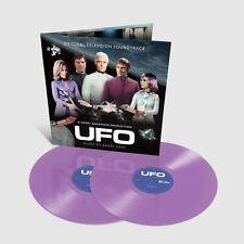 UFO - 2 x Complete TV Score - Purple Vinyl - Limited Edition - Barry Gray