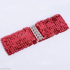 Patternless Festival Belts for Women
