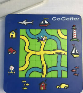 1999 Go Getter  Logic Puzzle 24 Fun Thinking Levels Smart Products
