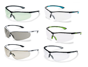 5 x Uvex Sportstyle Lightweight Anti-Fog Safety Spectacles Glasses