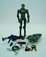 2006 Hasbro GI Joe Sigma 6 Snake Eyes (v5) Jungle Commando Incomplete
