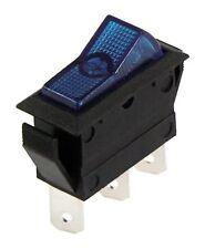 Wippenschalter KFZ Blau 12 V 20 A 3-polig Schalter 2 Stellungen 11264