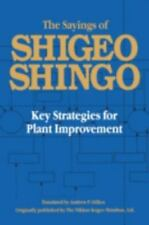 The Sayings of Shigeo Shingo: Key Strategies for Plant Improvement Japanese Man