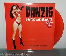DANZIG - DEVIL'S WHOREHOUSE LTD 150COP RED WAX LP LIVE IN NYC 1994 RARE VINYL