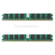 4GB(2X2 Gb)MEMORIA RAM PC2 5300 667Mhz DDR2 240PINES DIMM PC HIGH DENSITY AMD